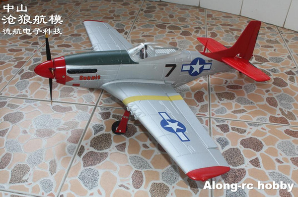 best selling EPO RC plane RC airplane HOBBY TOYS Volantex RC 768-1 Mustang P51D P51 750mm Wingspan Warbird Airplane PNP set