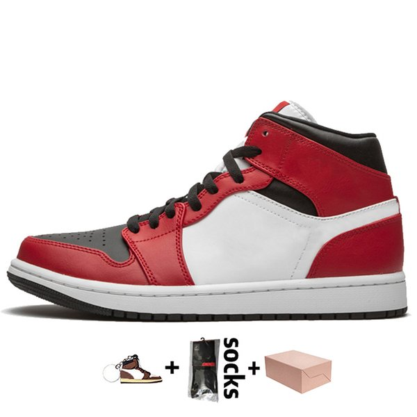 A48 Mid Chicago Black Toe 36-46