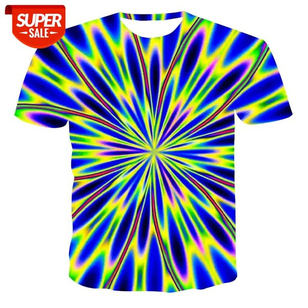 best selling 2020 new men's 3d printed quick-drying summer shirt T-shirt aurora pattern men's T-shirt large size short-sleeved funny shirt #oT8b