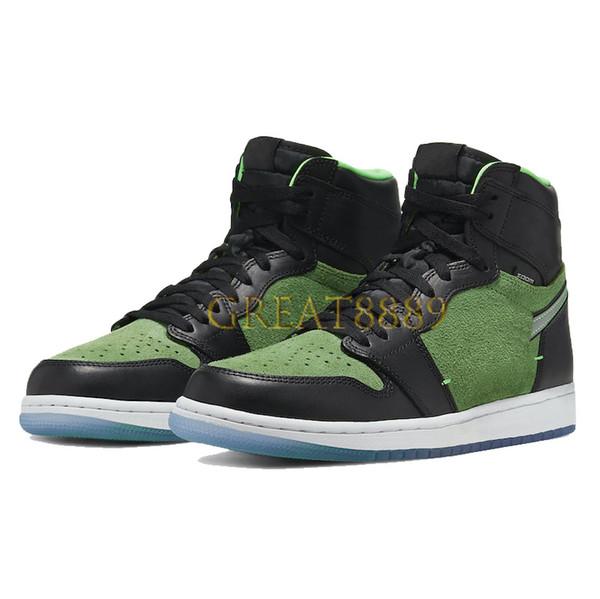 9.zoom black green