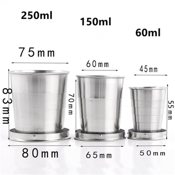 8oz 250ml Collapsible Cup