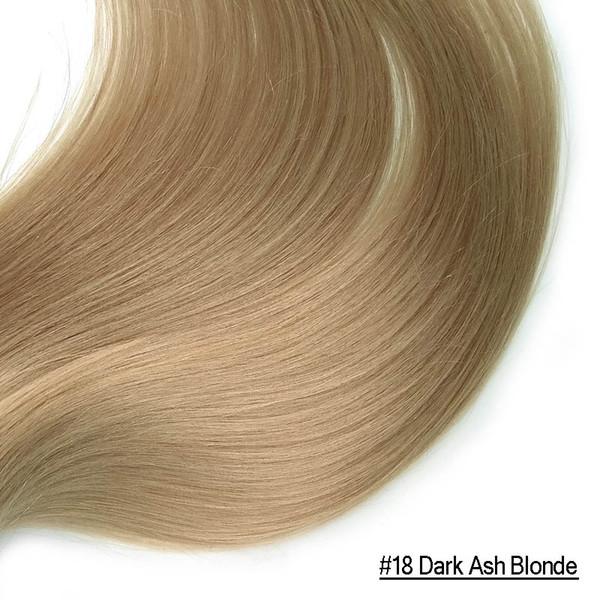 # 18 Темная зола блондинка