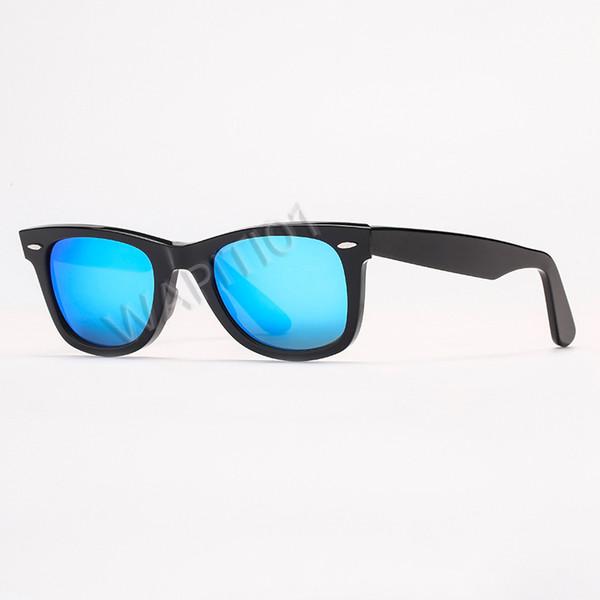 Miroir noir / bleu