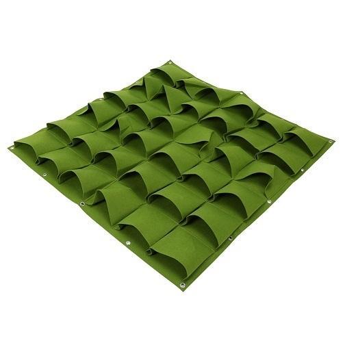 36 tasche verde