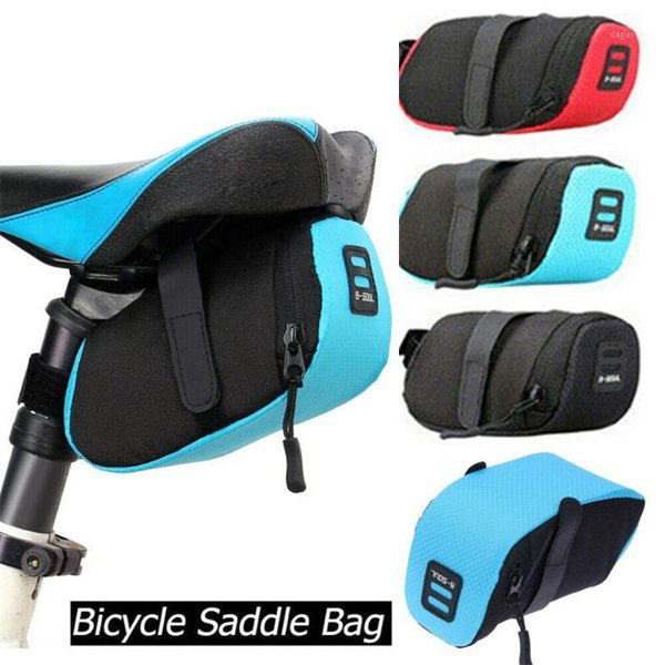 best selling Cycling Bags 1 PC Bike Bicycle Quick Release Under Seat Storage Rear Tail Pouch Outdoor Accessories1