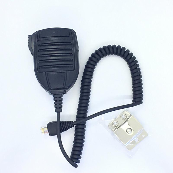 best selling MH-67A8J 8pins handfree microphone with belt clip for Yaesu Vertex VX2200 VX4500 VXR7000 FT450 FT817 FT2400 etc car radio