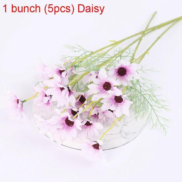 1bunch Purple Daisy