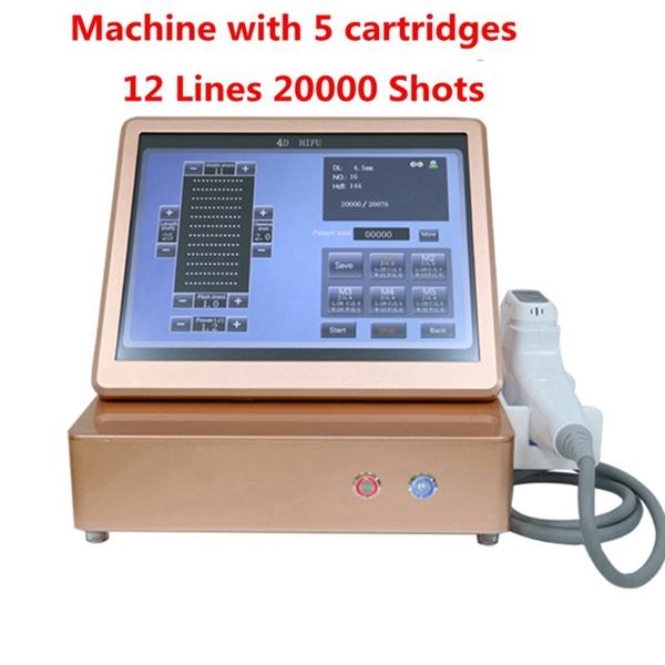 Machine with 2 cartridges