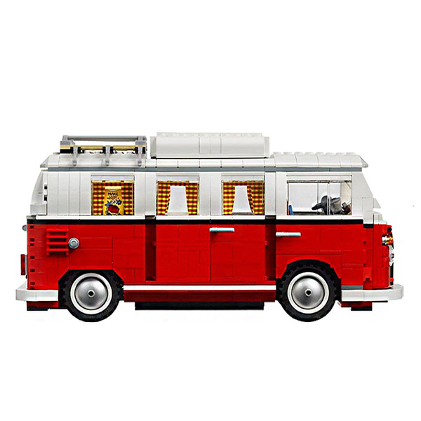 best selling 1354 Technic Series Volkswagen T1 Camper Van ed 10220 model building blocks sets set of bricks toys