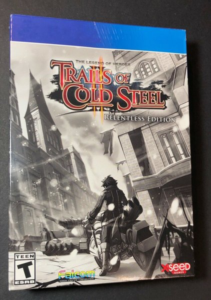 top popular 2020 hot sale factory sealed video games The Legend of Heroes Trails of Cold Steel 2 top quality Free shipping 2020