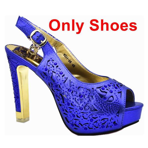 Blu solo scarpe