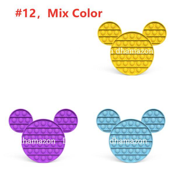 # 12, mélange de couleur