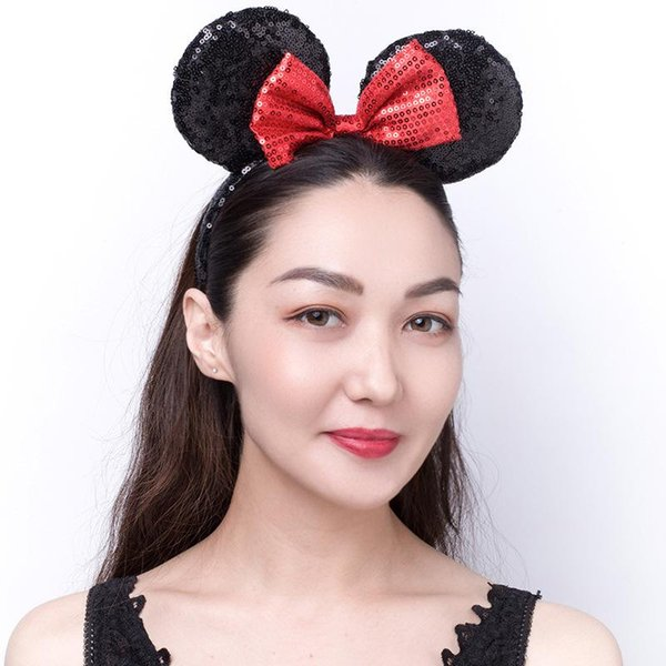 noir rouge Bow