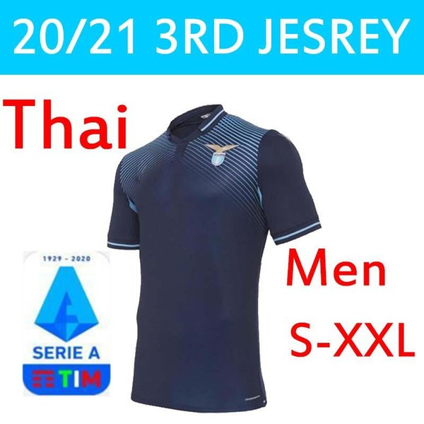 2020 20 21 Lazio Soccer Jerseys 120TH Vestiti Da Calcio ...