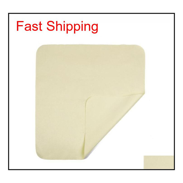 top popular Dhl Ship Glasses Cloth 15x18cm Suede Cloth Mobile Phone Screen Cleaning Wipe Cloth Isl qylsOB bde_home 2021