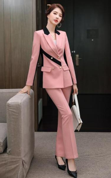 Pink coat and pants