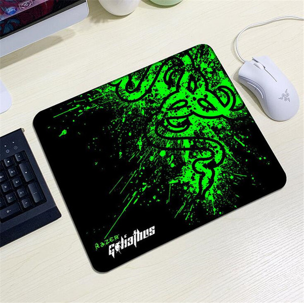 best selling New Razer Mouse 240X200X2mm Seaming Mouse pads Mat Mix Colors For Laptop Computer Tablet PC DHL free