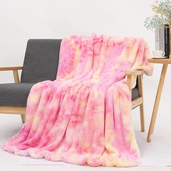 # 5 tie dye Decken