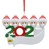5white Santa