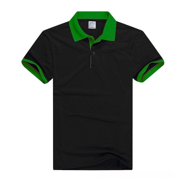 Collar negro y verde