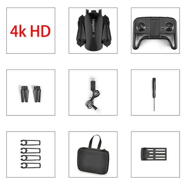 Black 4K+Portable Bag