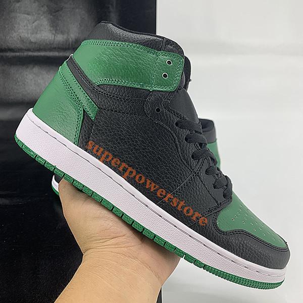 negro verde de pino