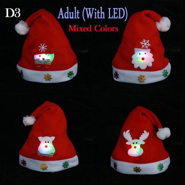 D3/Mixed Colors/Adult/Cartoons LED