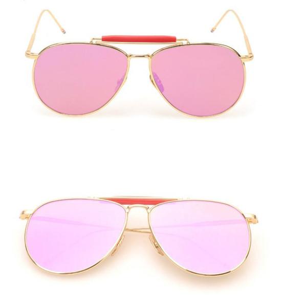 gold/ pink