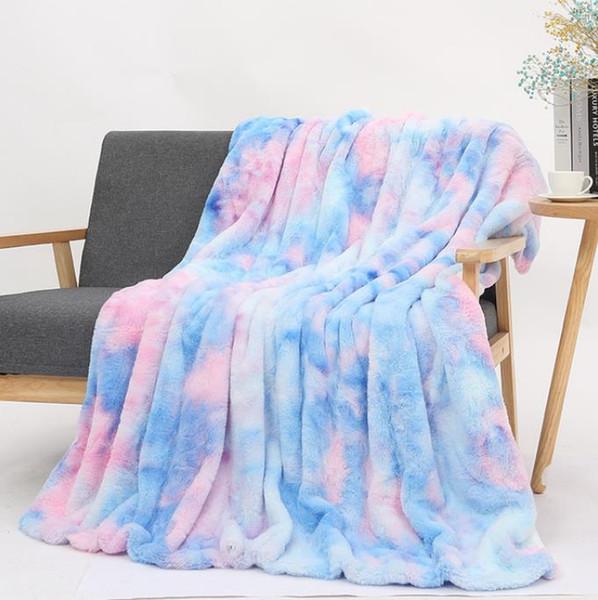 # 4 tie dye Decken