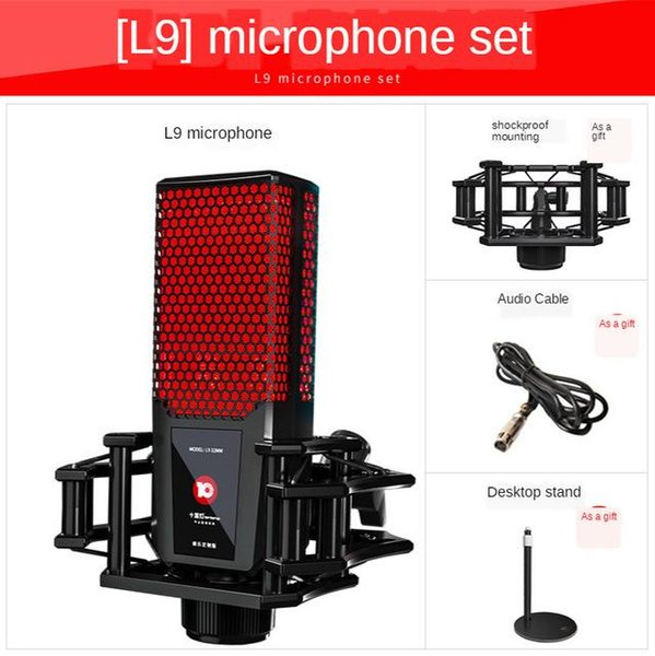 China L9 Microphone Red