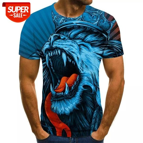 best selling 2020 new men's and women's T-shirts fun 3D printed T-shirts wild casual short-sleeved boys girls children tops #iI2A