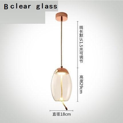 B vidro claro