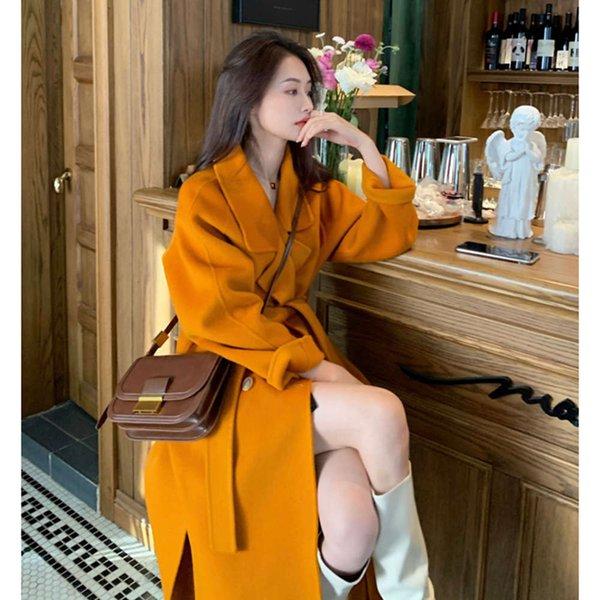 Manteau orange