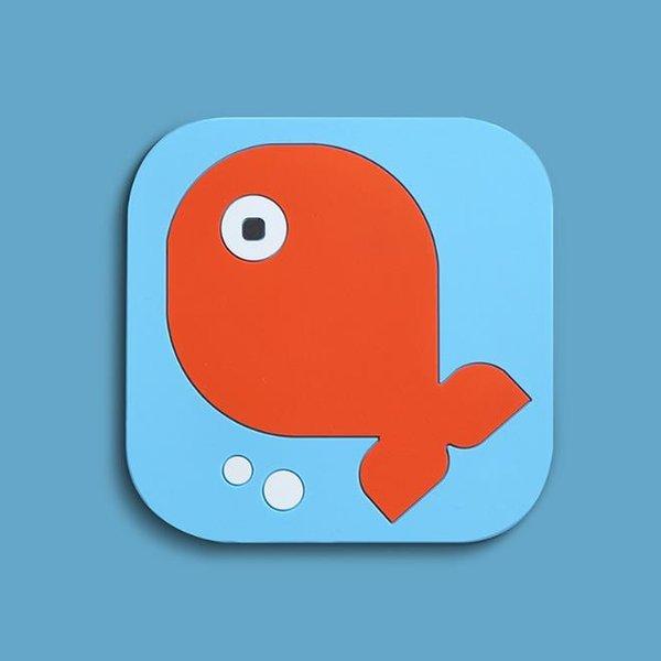 Pequeno peixe (15cm * 15cm)
