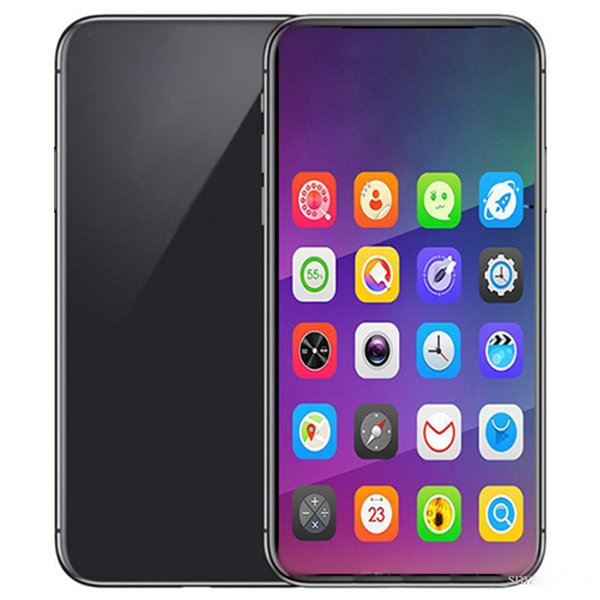 top popular Goophone 12 Pro Max 6.7inch 1G 8G Quad Core MTK6580 Phone can show fake 6G 256GB dual SIM Smartphone 2020