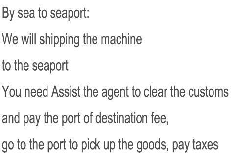 por mar para porto