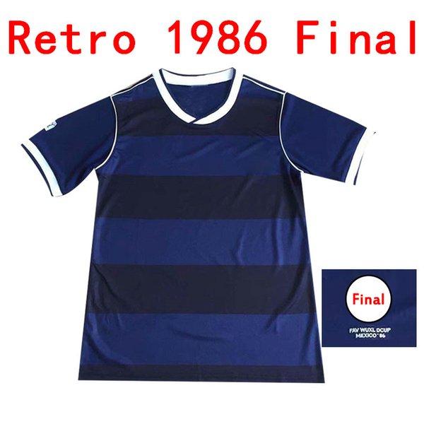 1986 اسكتلندا النهائية