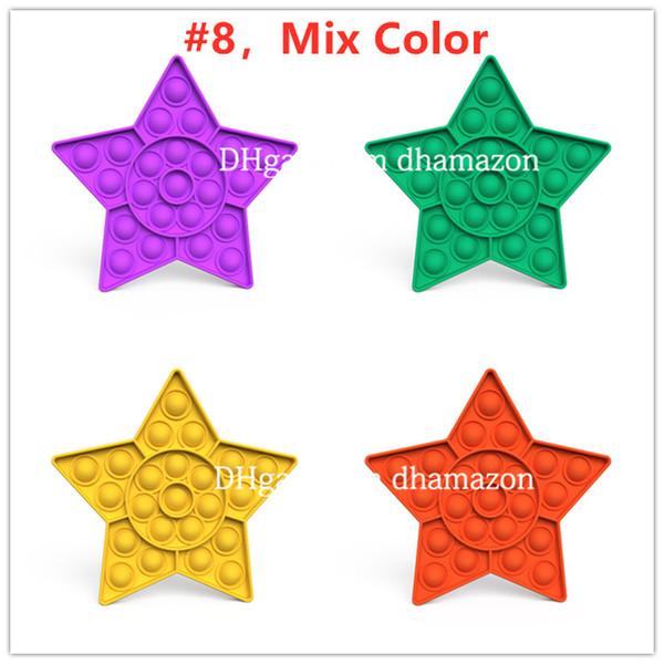 # 8, mélange couleur