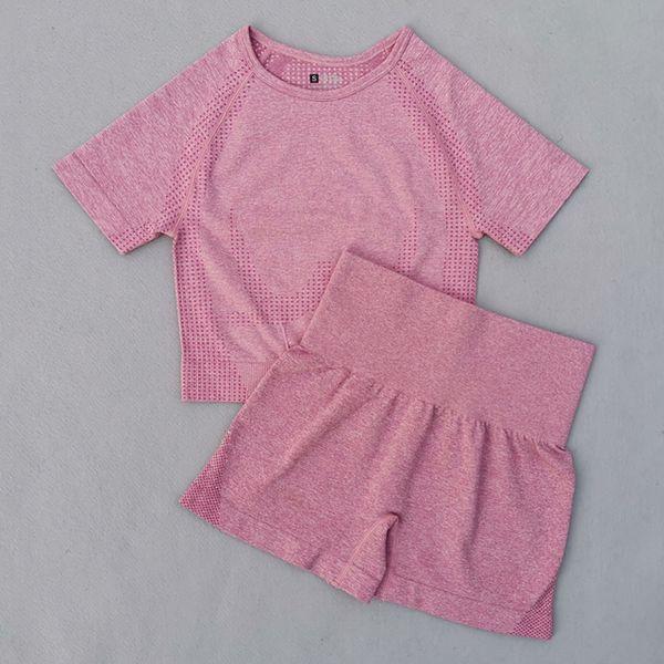 Pink 2 Pcs Set