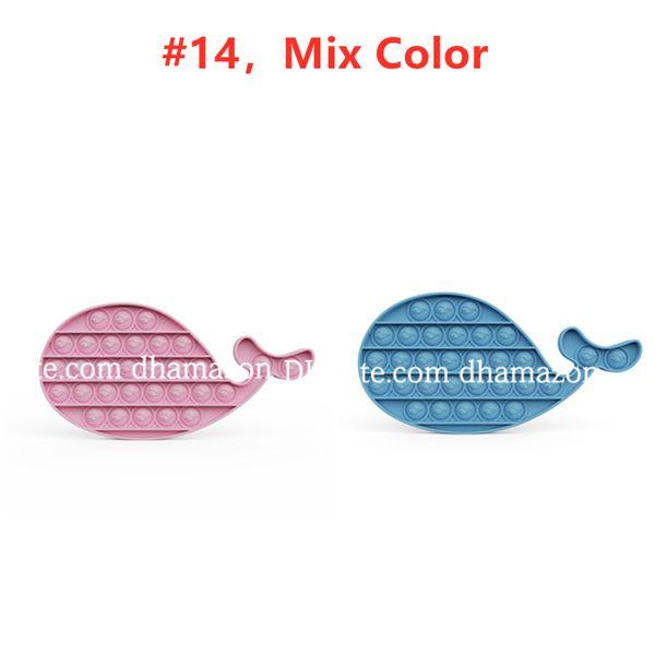 # 14, mélange de couleur