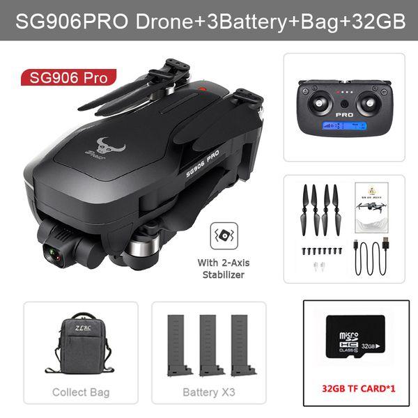 906 pro 3B Bag 32G
