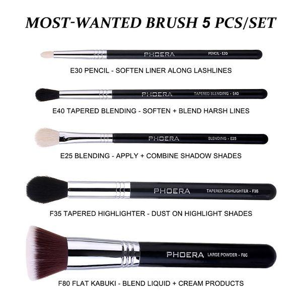 5pcs brushes set