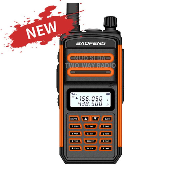 top popular 2020 Baofeng Walkie Talkie Two Way Radio 50KM S5 Plus IP67 Waterproof Long Range Hunting vhf uhf ham CB Portable Radio S5 Plus 2021
