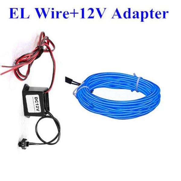 EL cable adaptador de 12v