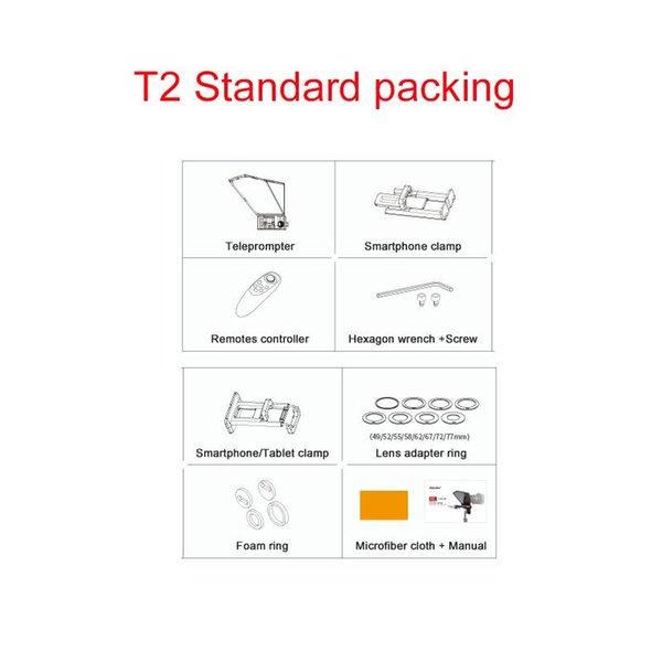 T2 embalagem padrão