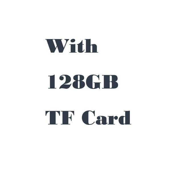 Com cartão de 128GB TF