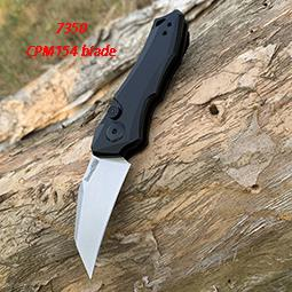 7350 CPM-154 black handle