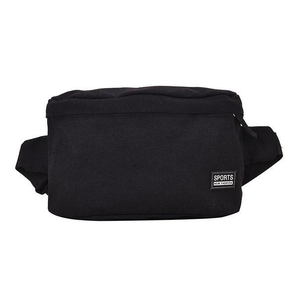 Bolso de cintura negro