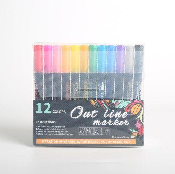 12 Color/Set