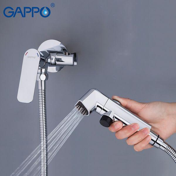 best selling GAPPO Bidets bidet toilet sprayer muslim shower toilet water bidet tap mixer wall mount ducha higienica C0127